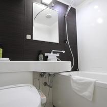 ◆改装済みバスルーム~全室ウォッシュレット付きトイレで清潔にご利用いただけます。