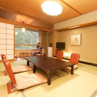 【本館和室10畳 黒部渓谷川側 スタンダード客室】:R