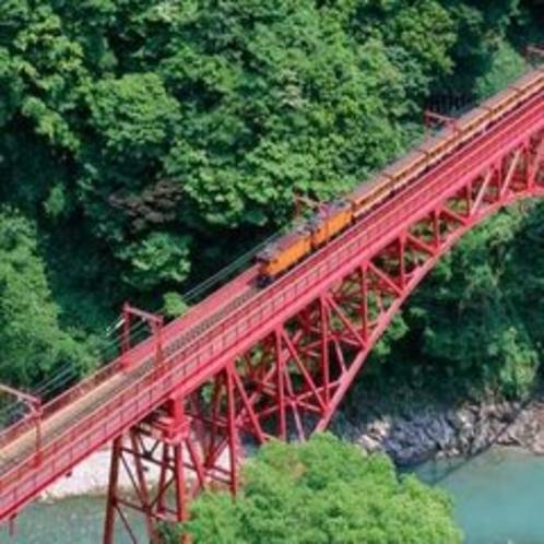 【黒部峡谷鉄道】トロッコ電車に乗って黒部峡谷の大自然の中に飛び込みましょう(4月中旬~11月末)