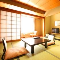 【本館和室8畳 リーズナブル客室】バス・洗浄機トイレ付
