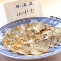 ≪朝食バイキング≫富山新港産の干物。キトキトの魚の干物も美味。
