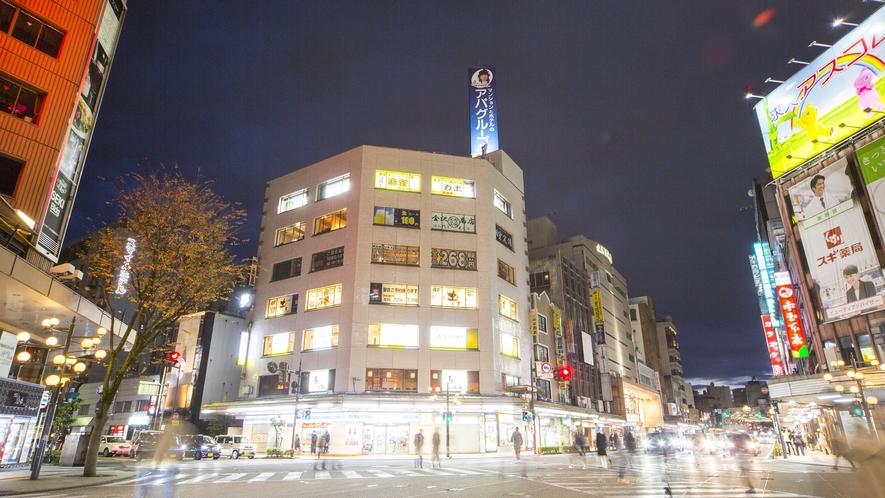 片町(夜の様子)(写真提供:金沢市)