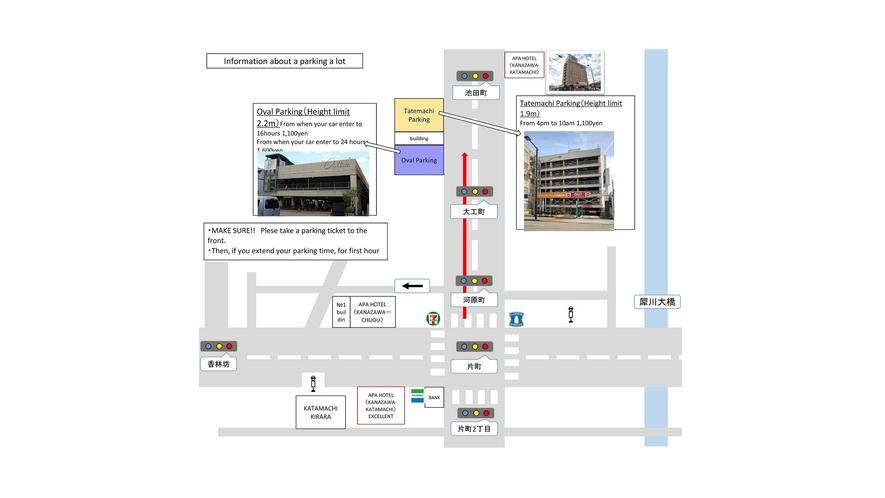 Parking lot information