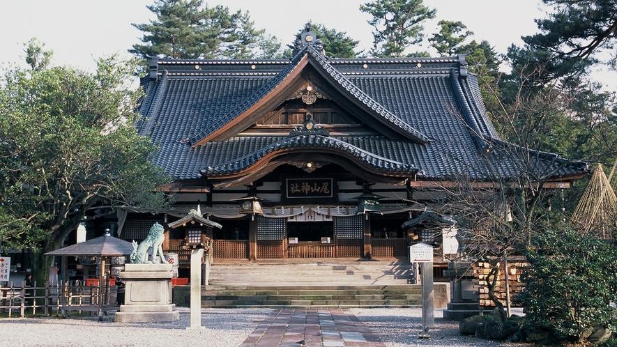 尾山神社(写真提供:金沢市)