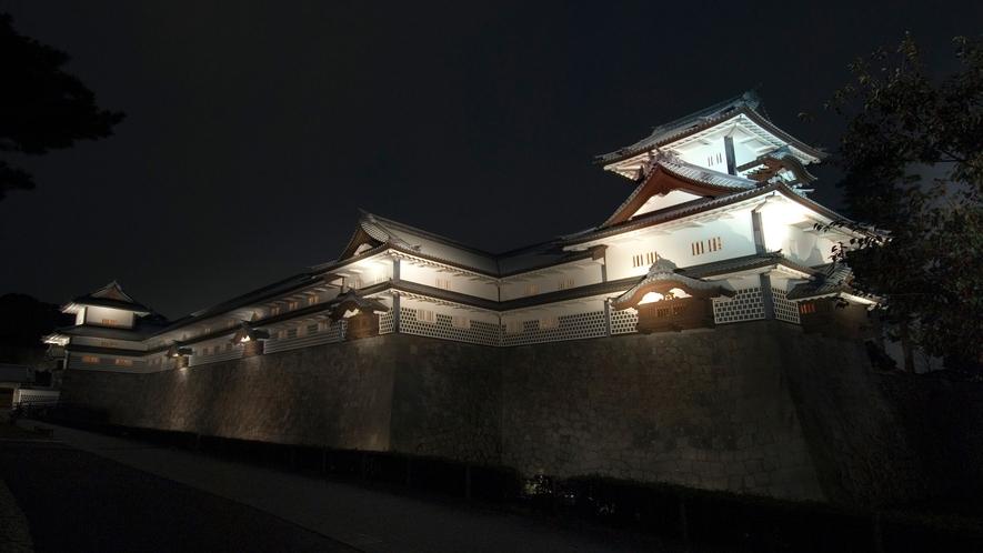 金沢城公園・夜(写真提供:金沢市)