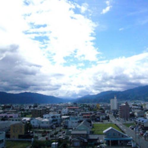 6階客室からの景色(山川)