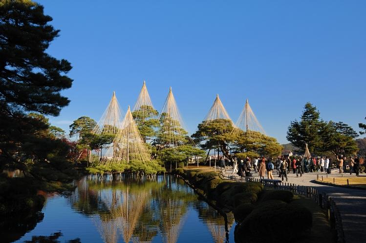 金沢の人気観光スポット『兼六園』