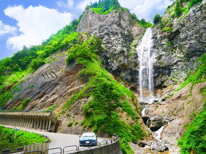 白山白川郷ホワイトロード(白山スーパー林道)名所『ふくべの大滝』