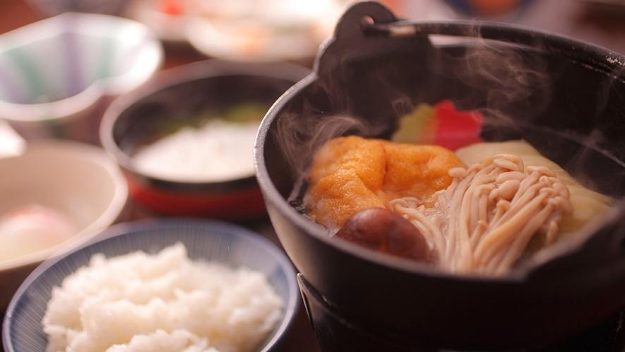 【朝食】高原の和定食