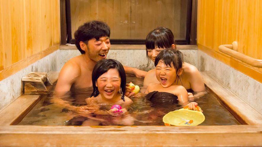 貸切ひのき風呂(有料)