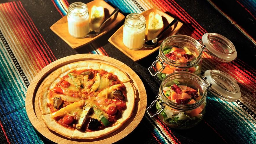 【グランピング】森の洋食ディナー