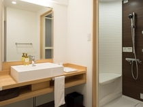 新客室のシャワールーム