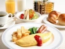 朝食ブッフェ オムレツイメージ