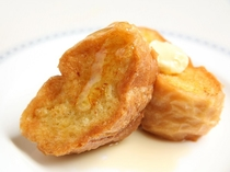 朝食ブッフェ フレンチトースト