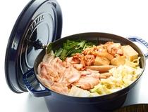 朝食:季節のなべもの「冬:キムチ鍋」