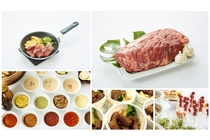 11月限定!月曜の朝食は「朝からステーキ」♪