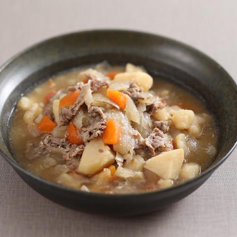 朝食(肉じゃが)◆一番人気★シェフのこだわり肉じゃが