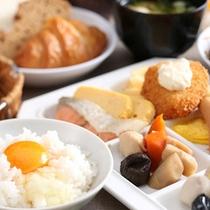 朝食和テイスト★多彩なメニュー☆シェフのこだわり食材