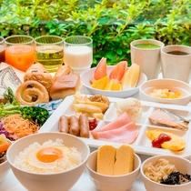 *【和洋朝食ブッフェ】約65種類をブッフェでご用意♪ヘルシー系からがっつり系まで多様な食をご用意。