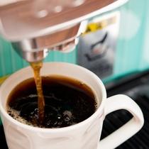 *【本日のコーヒー】専用マシンで取り扱っているコーヒー豆はUCC最高ランクが中心!至福の1杯を♪