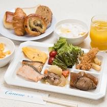 *【朝食バイキング・女メシver.】1日の始まりは朝食から。健康的な1日を過ごせること間違いなしです