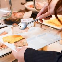 *【朝食バイキング】好きなものを好きなだけ食べられます。