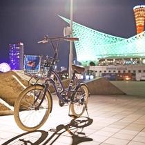 *【無料レンタル自転車】神戸観光からちょっとしたお買い物、スパ施設等へGO!