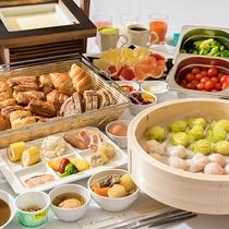 *【朝食ブッフェ】メニューをリニューアル!中華点心・温豆腐などあったら嬉しいメニューが仲間入り!