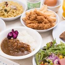 *【朝食バイキング・男メシver.】朝からガッツリ食べられます。安い!うまい!早い!
