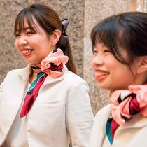 *【フロントスタッフ】神戸三宮ユニオンホテルへようこそ!当館での束の間のご滞在をお楽しみください。