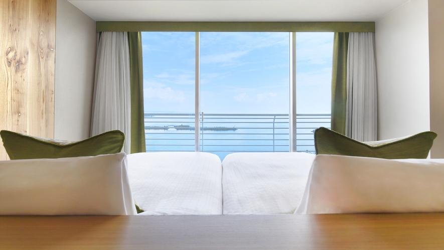 スーペリアフロア『Natura(ナチュラ)』40㎡ ベッドからの景色