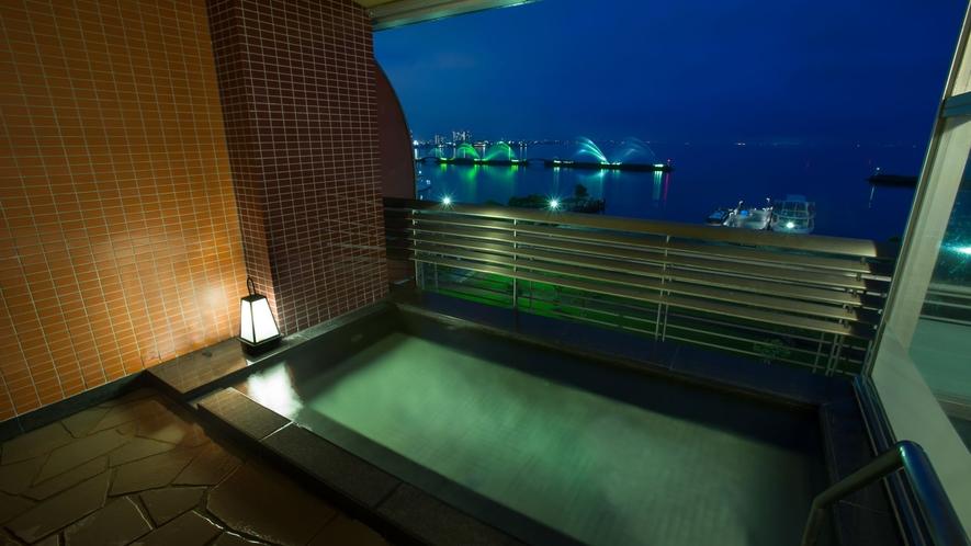 温泉大浴場 露天風呂 イメージ