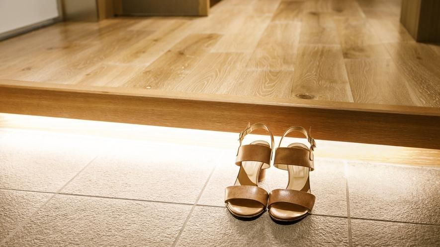 当館で唯一の靴を脱いで上がっていただくスタイルのお部屋『Vista(ビスタ)』