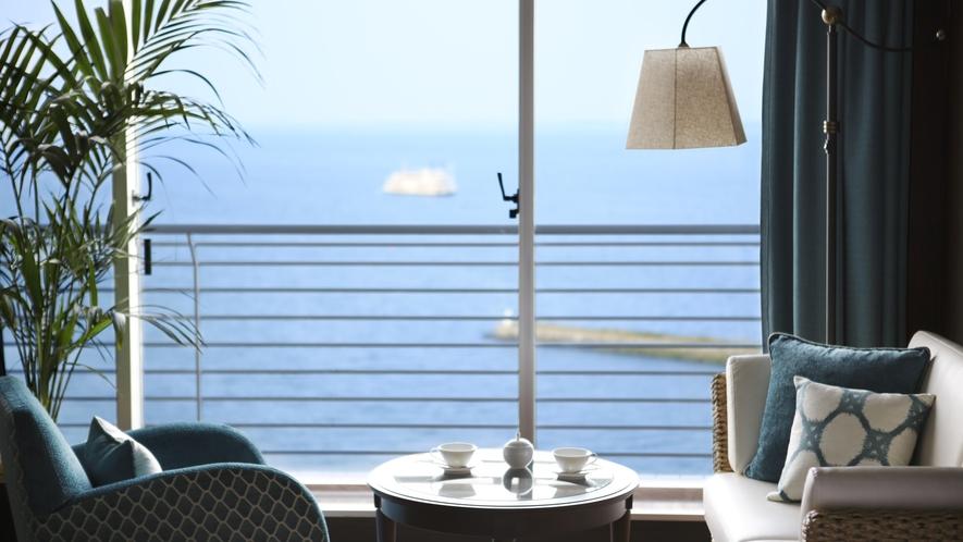 ラグジュアリーフロア『Aqua(アクア)』 お部屋からの景色 イメージ