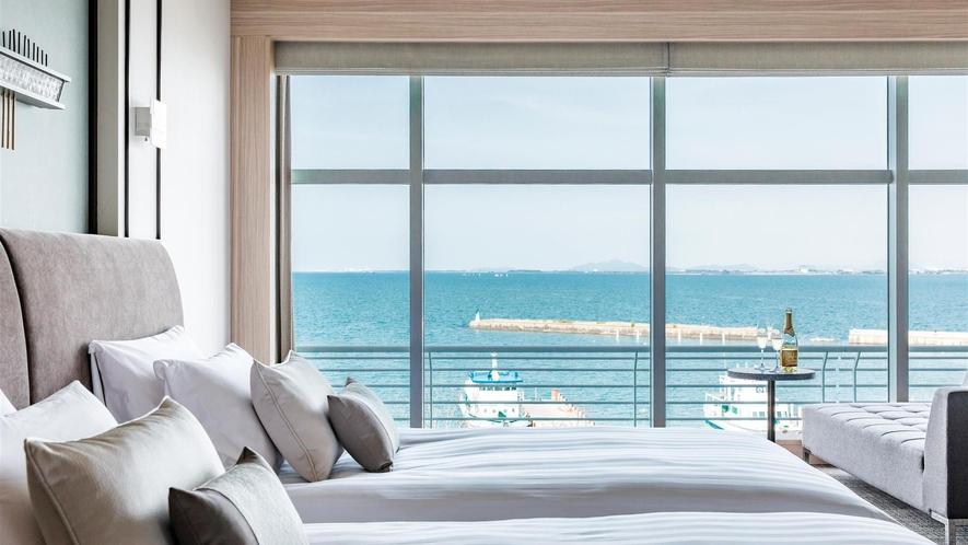 プレミア・ラグジュアリーフロア『Vista』ツインお部屋からの景色 イメージ