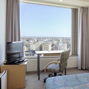 16階 高層階シングルルーム【喫煙/街側/夜景】