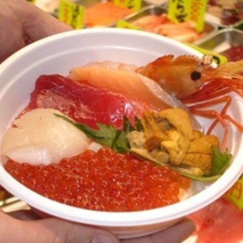 釧路名物「勝手丼」
