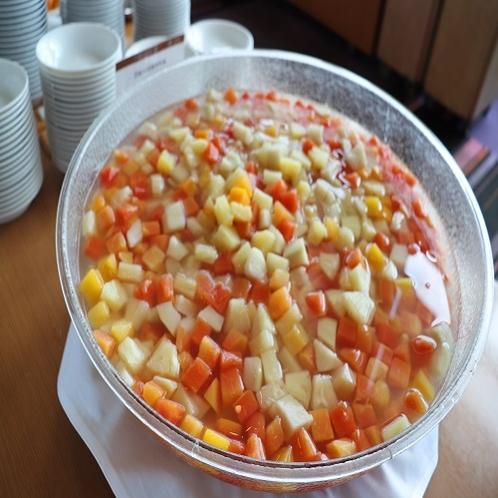 【朝食ブッフェ】カクテルフルーツ
