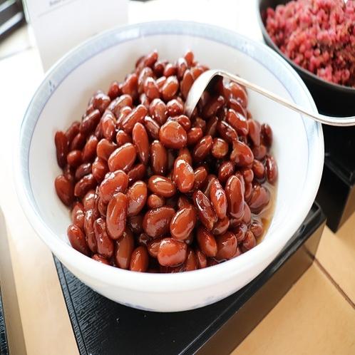 【朝食ブッフェ】金時豆