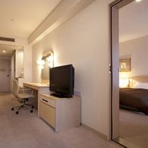 コネクティングルーム(デラックスツイン×2室) ※室内のドアから行き来が可能!