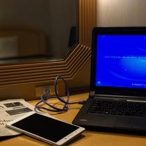 ■有線LAN & 無線LAN ■ 全室完備