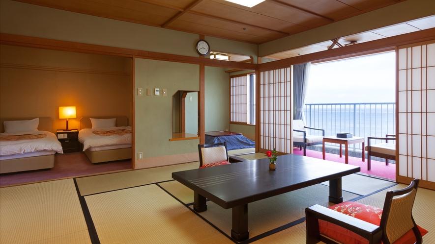 ◆特別室【花うるし】和洋室 12.5畳+4.5畳+ツインベッド