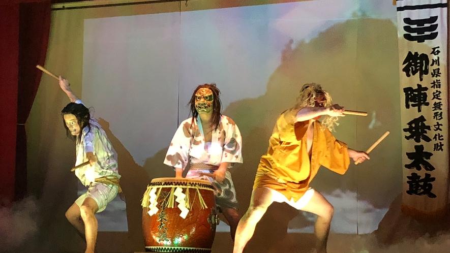 ◆御陣乗太鼓の実演