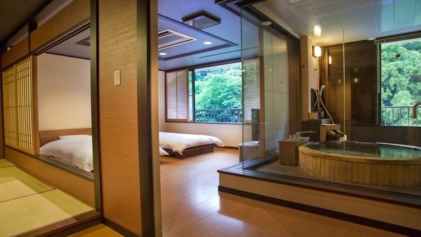 露天風呂スイート『六庄庵202号室』(禁煙室)