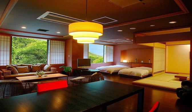 【6〜7月特別企画】<個室食確約>憧れの露天付きスイートが二人で17600円OFF!【第1弾】