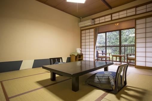 内風呂なしの和室(かえで庵10畳渓谷側)(禁煙室)