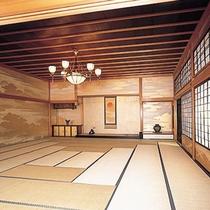 【無限庵】徒歩約8分。石川県指定文化財の加賀藩最高の武家書院です。古美術品が公開されています。