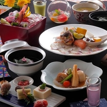 【リーズナブル】加賀の伝統料理をベースとした新しい旅館の会席料理です。【桜ごよみ会席】