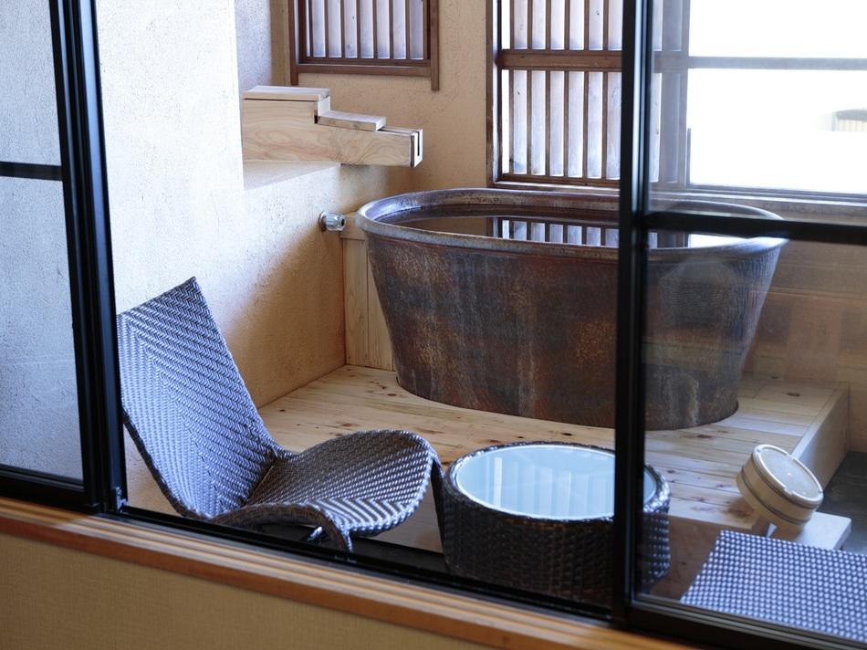 禁煙 デッキ付露天風呂付客室