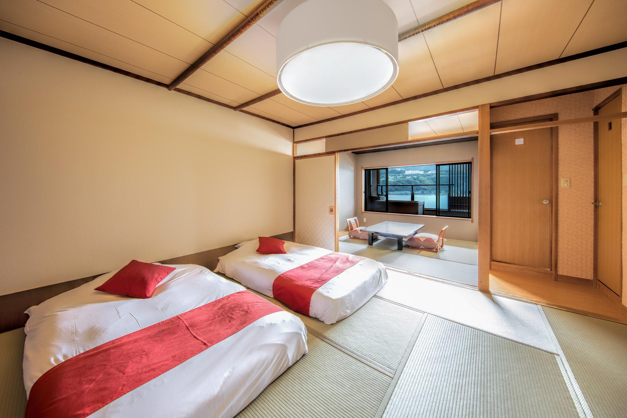 露天風呂付客室和風